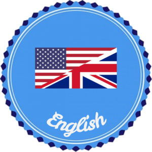 symbol with American and British flags combined