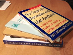 stack of the books mentioned in the text